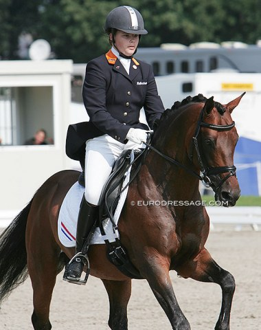 Recognize these Grand Prix riders when they were pony kids? Anne Meulendijks on Boticelli