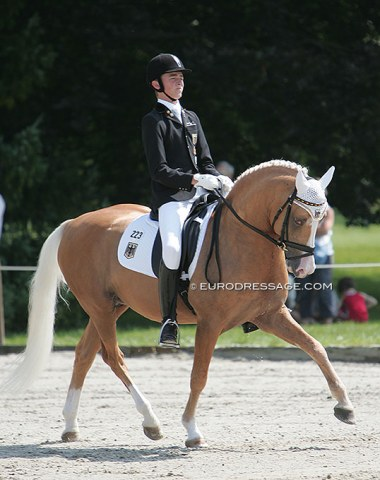 Recognize these Grand Prix riders when they were pony kids? Sönke Rothenberger on Deinhard B