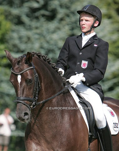 Recognize these Grand Prix riders when they were pony kids? Nicolas Wagner on Lordy