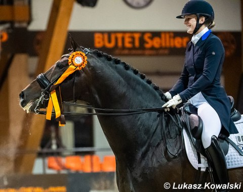 Nanna Skodborg Merrald won the GP and GP Special with Blue Hors Zack