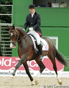 German rider Oliver Oelrich on the Dutch bred Obsession