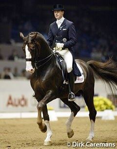 Jan Brink on Bjorsells Briar at the 2002 World Cup Finals