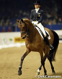 Spanish Beatriz Ferrer-Salat and Beauvalais ranked third at the 2002 World Cup Finals