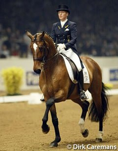 German Ingrid Klimke and Belgian warmblood gelding Nector van het Carelshof were the revelations of the 2002 World Cup Finals