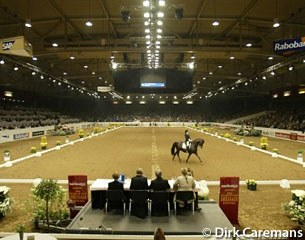 De Brabanthallen show ring during the 2002 World Cup Finals