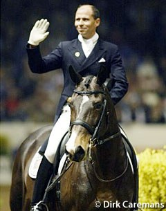 Steffen Peters and Grandeur in 's Hertogenbosch