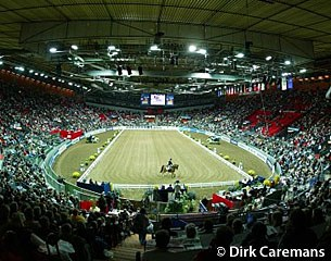 The Goteborg arena, setting for the 2003 World Cup Finals