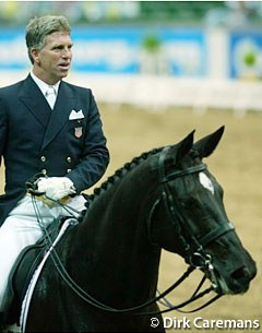 American George Williams and Rocher at the 2003 World Cup Finals