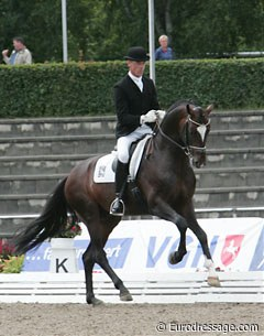 Ulf Moller and Sir Donnerhall (by Sandro Hit x Donnerhall)