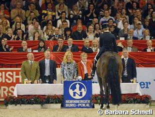 "Their victory was well-deserved, and they also won the special award for the smoothest riding style. ""My mother would not agree"", Vicky joked during the award ceremony, ""but maybe this will convince her to think twice next time she starts nagging""."