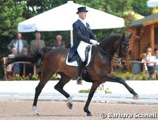 Matthias Rath and Sterntaler won the 2008 German Championships for male riders