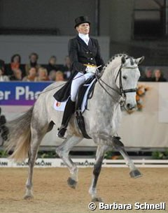Power and promise in the nine-year-old PSI auction horse Limited edition under Sabine Egbers