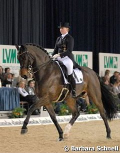 Andrea Timpe is entering her second Grand Prix season aboard a new horse, and with Rosselini, she has found a perfect match. The pair placed 6th in the GP and 5th in the special.