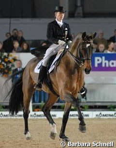 Isabell Werth on Apache winning the Grand Prix and Special