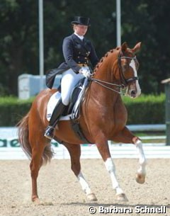 Andrea Timpe and Dixieland in the Nurnberger Burgpokal Qualifier