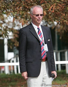 FEI Dressage Director Trond Asmyr keeping an eye on things
