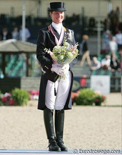 Adelinde Cornelissen, the 2009 European Grand Prix Special Gold Medallist