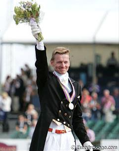 Edward Gal, the Grand Prix Special Silver Medallist at the 2009 European Championships