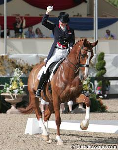 Laura Bechtolsheimer knows she put in a stellar ride which would earn her individual bronze