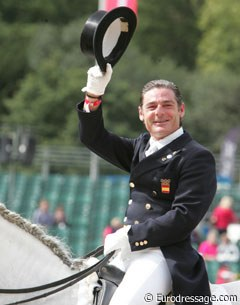 Juan Manual Munoz Diaz was the best performing Spanish rider. He got 69.745%
