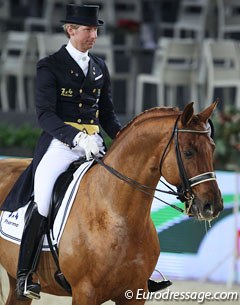 Patrik Kittel rode Romantik Boy (by Rubinstein I x Bolero) for the prize giving