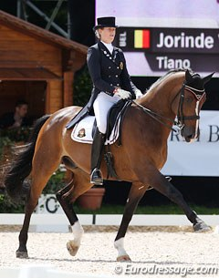 Jorinde Verwimp and Tiamo (by Lester x Hemmingway) are the second Belgian pair to qualify for the Kur by scoring 69%+
