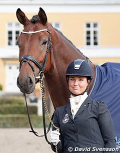 Mia Runesson with Bonheur (by Bocelli x Furst Heinrich)