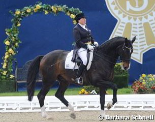 The 60-year old Bianca Kasselmann won the 2012 German Professional Dressage Riders Championships aboard former PSI price highlight Weltclassiker