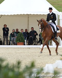 At the 2012 CDI Leudelange a judges' course took place for Belgian level 4 judges supervised by Mariette Withages