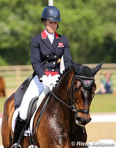 Charlotte Dujardin on Don Archie