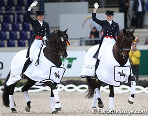 Danish Sofie Jeppesen on First As and Nanna Merrald on Millibar win the Under 25 Nations' Cup