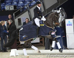 Patrik Kittel and Deja win the 2013 CDI 3* Mechelen
