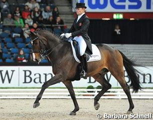 Swiss Marcela Krinke-Susmelj and the Danish bred Molberg were third in the Masters