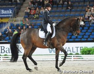 Isabell Werth and Don Johnson win the German Stuttgart Masters by topping the Grand Prix Special