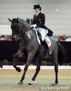 Victoria Michalke on Salazar, which was previously competed by Geertje Hesse