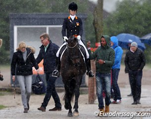 Rain rain rain during the 2014 CDI Roosendaal