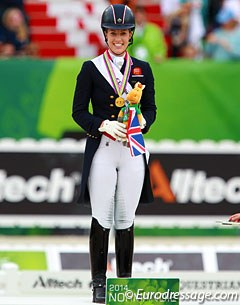 Charlotte Dujardin is the new World Champion