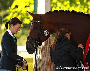 Jessica Michel and her groom are getting Riwera ready