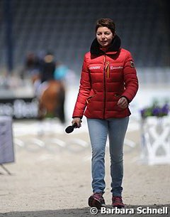 German team trainer Monica Theodorescu