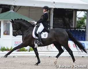 German young rider team member Anna Christina Abbelen on Furst on Tour