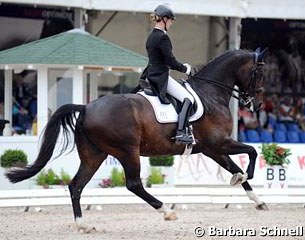 German young rider team member Claire Averkorn on Condio B