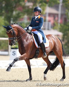 Dana van Lierop on Equestricons Walkure