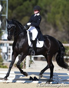 Danish Olivia Nistrup Lamm on San Dior (by Sandro Hit x Davignon)