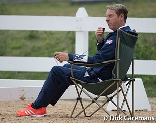 Carl Hester coaching