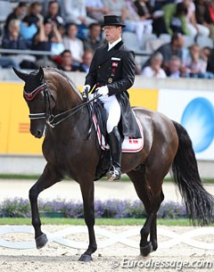 Anders Dahl and Selten HW got bronze at the 2017 Danish Championships, but their Aachen grand prix lacked polish