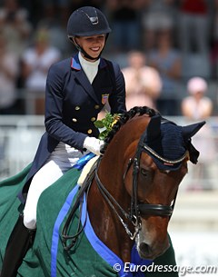 Laura Graves and Verdades write history and win in Aachen