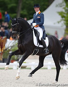 Adelinde Cornelissen and Aqiedo led the Dutch team to a third place in the Nations' Cup.