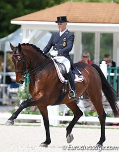 Jeroen Devroe and Eres DL missed out on the CDI Lier and 's Hertogenbosch in March due to injury, but the pair is back and on the Belgian Nations' Cup team