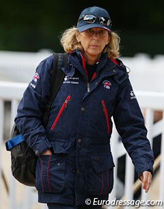 Brand new British chef d'equipe- and World Class Dressage Performance manager Caroline Griffith
