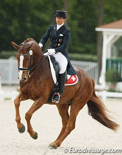 Swiss Antonella Joannou on Dandy de la Roche